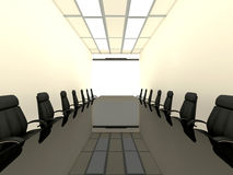 Business concept. Financial conference. Business concept, Financial conference. 3d render Royalty Free Stock Photography