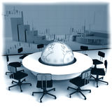 Business concept. Financial conference. Business concept, Financial conference. 3d render Royalty Free Stock Photos