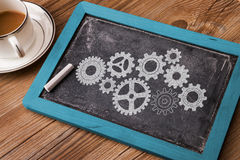 Business concept: gears Royalty Free Stock Photo