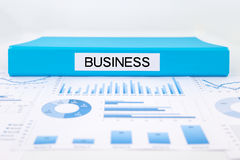 Business concept, graphs, charts and strategic plan Stock Photo