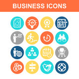 Business concept icon Royalty Free Stock Photos