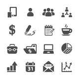 Business concept icon set 2, vector eps10 Stock Photos