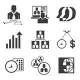 Business concept icons Stock Photo