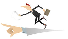 Business concept illustration Stock Photos