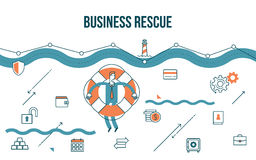 Business concept illustration Stock Images