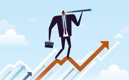 Business concept illustration royalty free illustration