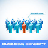 Business concept illustration. Stock Photo