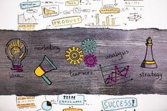 business concept images more my portfolio startegy απεικόνιση αποθεμάτων