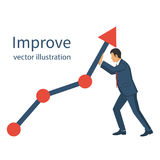 Business concept. Improve Royalty Free Stock Image