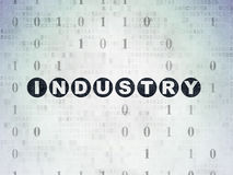 Business concept: Industry on Digital Paper Royalty Free Stock Images