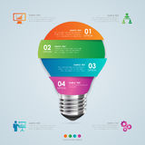 Business concept infographic template Stock Photo