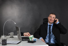 Business concept of internet scam Stock Image