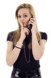 Business Concept- Keeping Secrets Stock Photography