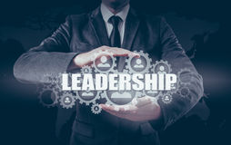 Business concept leadership and personnel management.  royalty free stock image