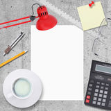 Business concept with office and business work Stock Photo