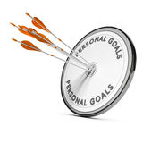 Business Concept, Personnal Goals Stock Photo