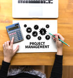 Business Concept  RISK MANAGEMENT and  Hazard Dangerous Prevent Royalty Free Stock Image