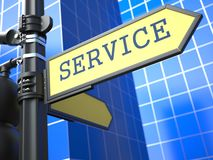 Business Concept. Service Sign. Royalty Free Stock Images