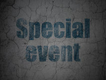 Business concept: Special Event on grunge wall Royalty Free Stock Images