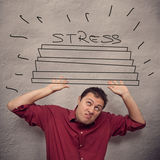 Business concept: stress Royalty Free Stock Images