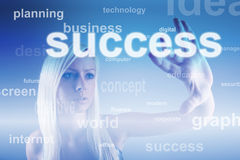 Business concept - success Stock Images