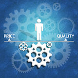 Business concept for success with the right action Royalty Free Stock Photo