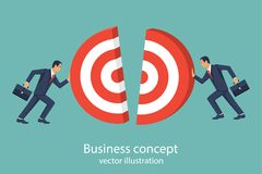 Business concept target vector Stock Images