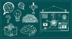 Business Concept Teamwork Brainstorm Social Network Communication Startup Development Stock Image