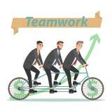 Business concept teamwork. Stock Photo