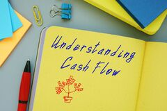 Business concept about Understanding Cash Flow with inscription on the piece of paper