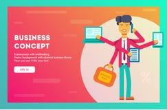 Business concept. Vector illustration. vector illustration
