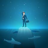 Business concept vector illustration royalty free illustration