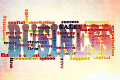 Business concept. Business words concept on the abstract background Royalty Free Stock Photography
