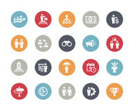 Business Concepts Icon Set // Classics Stock Photo