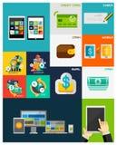 Business | Concepts plats de finances Photos libres de droits