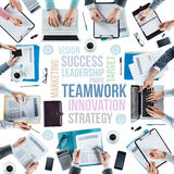 Business concepts and team at work Stock Photography