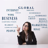 Business concepts Royalty Free Stock Photo
