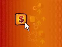 Business conceptual wallpaper Royalty Free Stock Images