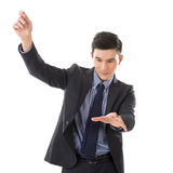 Business conductor man Stock Photos