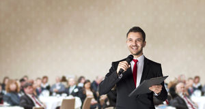 Business conference stock image