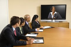 Business conference. stock photography