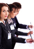 Business conference attendants Stock Photography