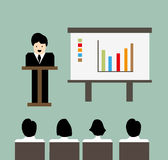 Business conference meeting background Royalty Free Stock Photos