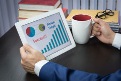 Business conference meeting concept, target, success Stock Photo