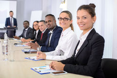 Business conference Stock Images