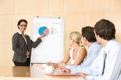 business confident giving presentation woman Стоковые Изображения