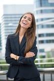 business confident smiling woman Стоковые Изображения