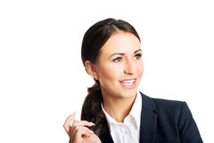 business confident smiling woman Стоковая Фотография