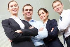 business confident team 库存照片