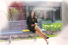 business confident woman στοκ φωτογραφία με δικαίωμα ελεύθερης χρήσης
